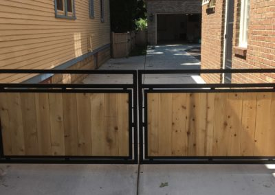 Driveway Gate for Dogs