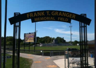 Arch for Football Field