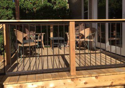 Deck Railing - Battles