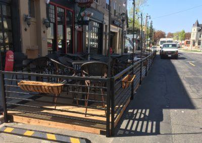 Railing for Parklet