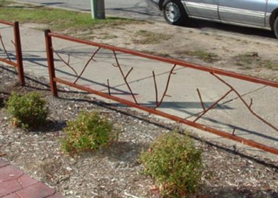Outside Railing for Qdoba - Twig Like
