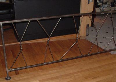 Twisted Fork Railing