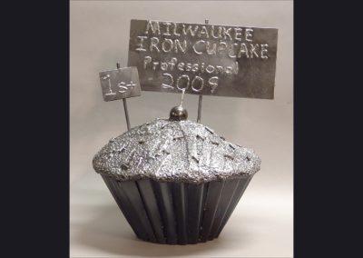 Iron Cupcake  15 in diameter