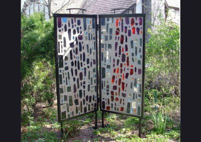 Frame for Art Glass 5 ft tall panels
