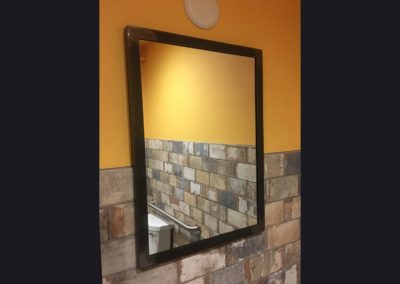 Bathroom Mirror Frame - Cubanitas 2