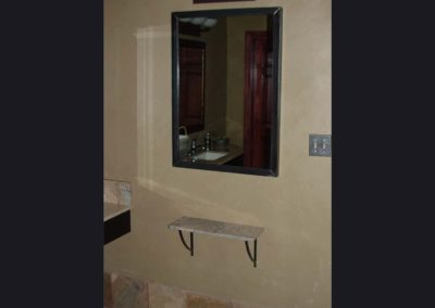 Frame for Bathroom & Shelf