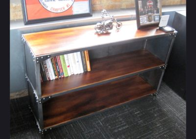 Bookshelf for CEO Harley-Davidson