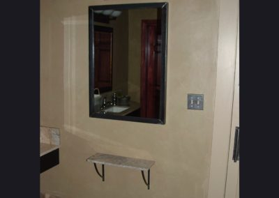 Mirror & Self for Bathroom