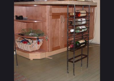 Wine Rack Counter Support