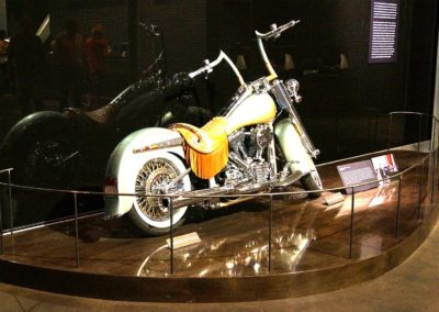 Harley Musuem Display Platform