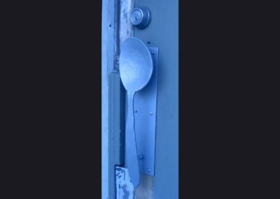 Spoon Door Pull - 18 in wide