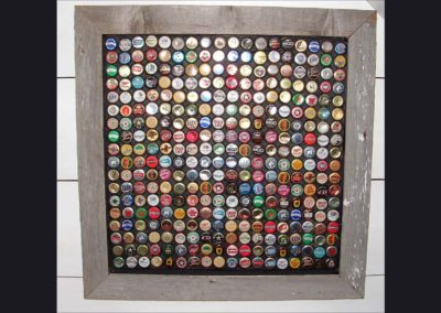 bottle cap art 2 ft sq