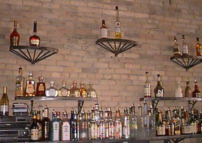 Back Bar Shelves