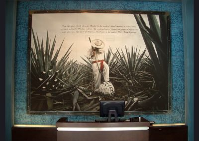 COA Restaurant - Frame  9 ft wide