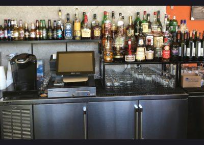 Cubanitas 2 - Back Bar Shelves