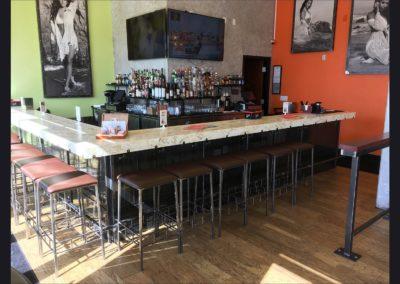 Cubanitas 2 - Bar, Stools, Mirrors, Shelves