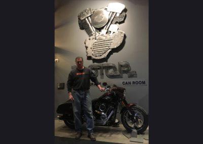Harley-Davidson Museum - Motor Sculpture & Signage