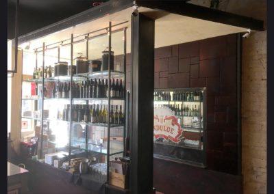 Indulge Wine Room -  Entryway , Shelves