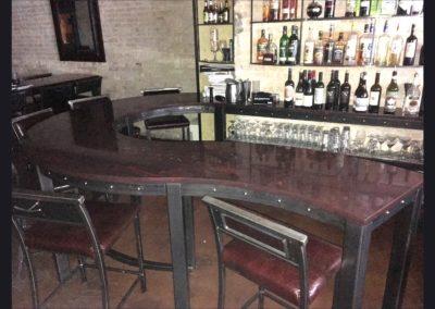 Indulge Wine Room - Bar, Island, Shelves