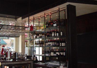 Indulge Wine Room -  Shelves
