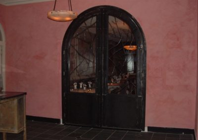 Doors at Osteria - 9 ft  tall