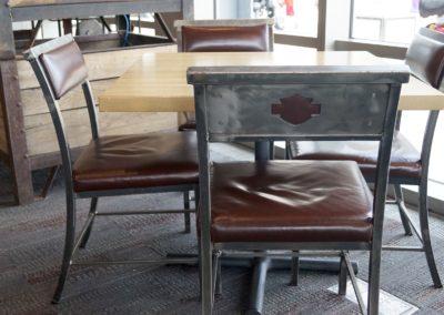 Harley Museum Motor Restaurant  Chairs