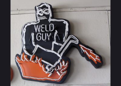 Weld Guy - Neon Sign 36 in tall