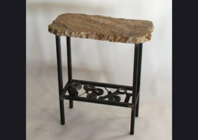 Harley Piston Table - Granite  Top